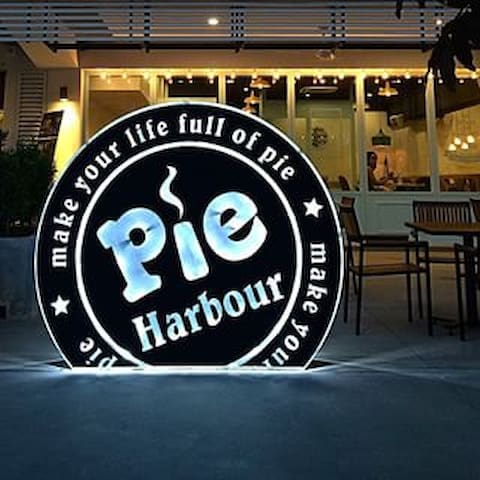 place for pie, it is just below our apartment