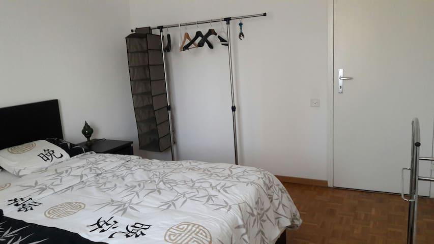 Joli chambre confort quartier calme - Lozan - Daire