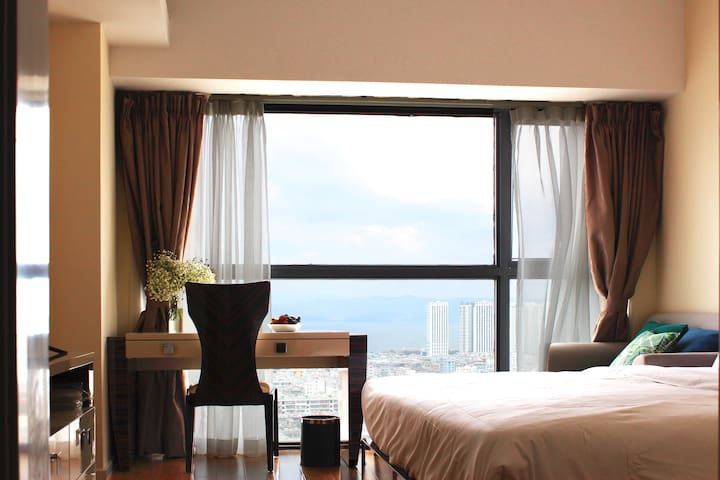 TheKite 公寓 望山看云、星级床品、简欧风格单间公寓
