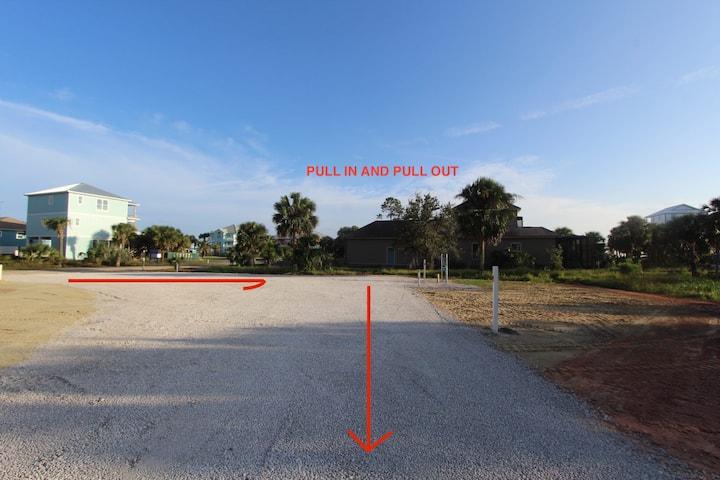 RV Campsite Easy Access Hookups Easy Beach Access