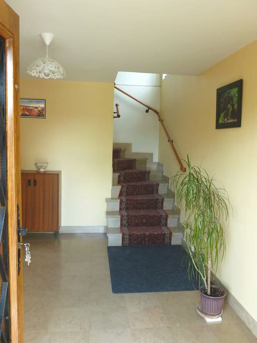 spacieux hall d'entrée