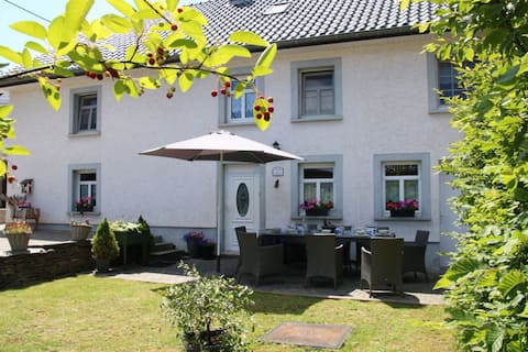 Spacious Holiday Home with Private Garden in Ardennes