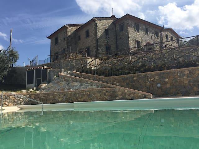 Apartment Melograno 2-4 p Farmhouse Sasso Regino - Buriano - Daire