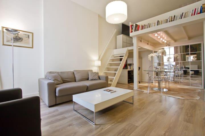 Spacious Studio near Parc Monceau - Paris - Leilighet