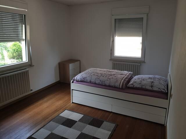 Gemütliches Zimmer 4, ruhiges wohnen mit Garten
