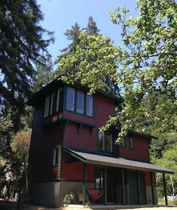 Romantic Santa Cruz Tower in the Redwoods - Santa Cruz - Ev