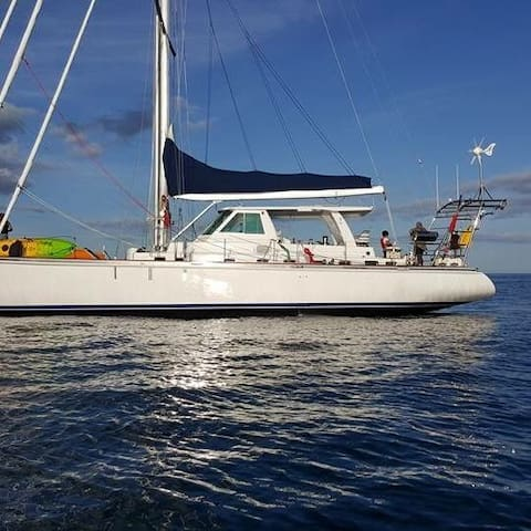60 ft sailing yacht for sailing adventures - Kota Tingi - Barco