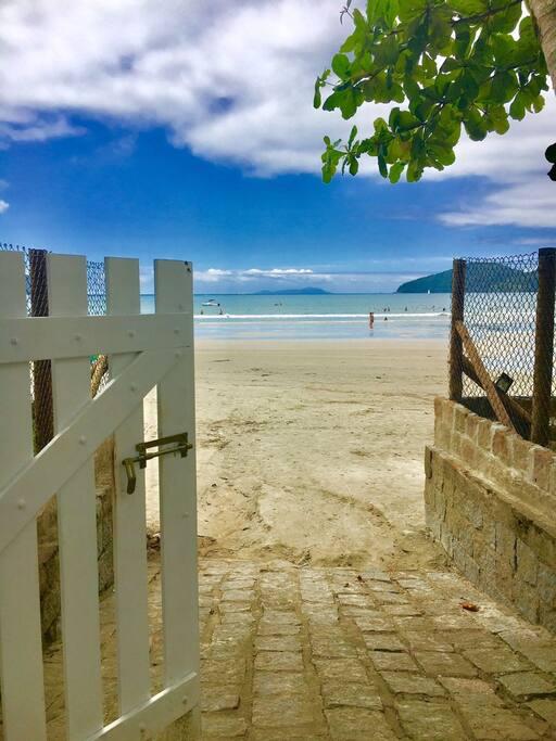 Portão da praia