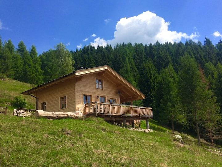 Traumhafte Hütte mit Sauna, Südhang Hohe Tauern
