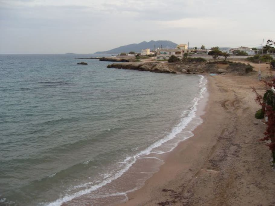Beach within 30 meters from Home Entrance