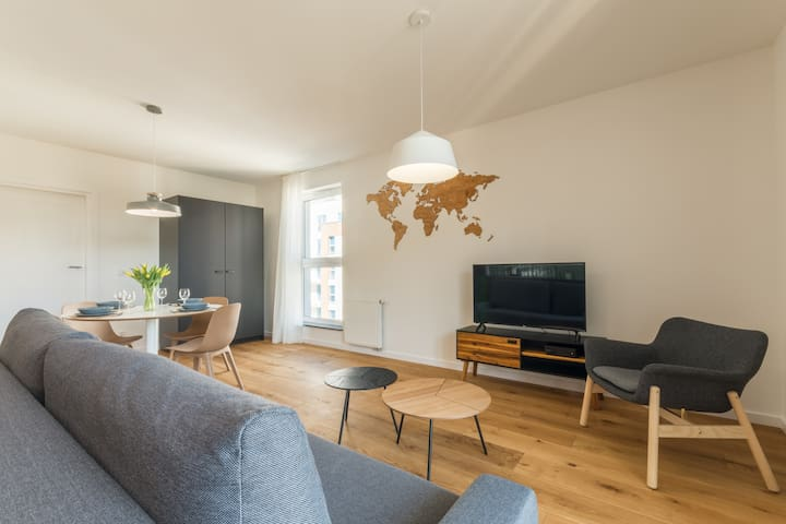 Apartment in the old town 13A