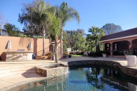Hacienda style rooms with a view - Jamul - Hus