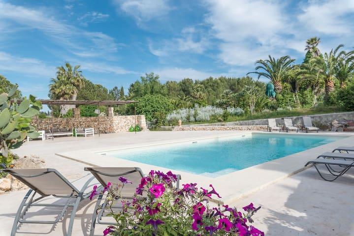 Masseria con piscina vicino Gallipoli, Salento