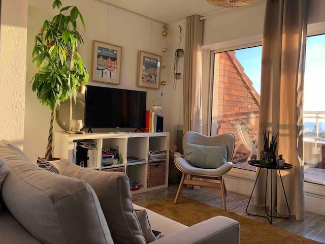 Coin salon . mini chaine HIFI bluetooth.TV   Opérateur  wifi Orange  Internet A été 'INSTALLÉ en  05.2020