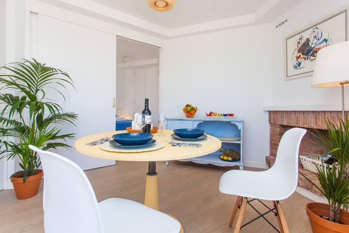 Idílico apto. con terraza y vistas a Cala Ferrera - Cala Ferrera - Apartment