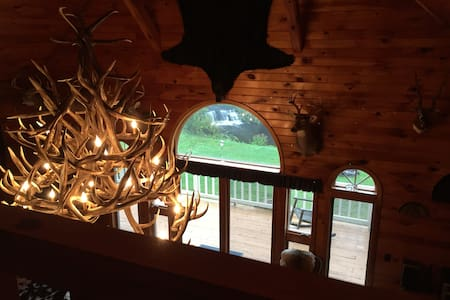 The Trophy Room @ Elk Mountain - Union Dale - Rumah