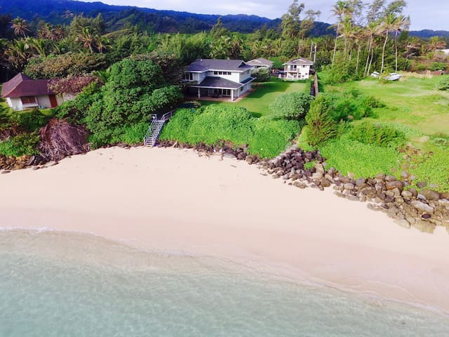 Step onto SAND-Secluded Beach House - Laie - Rumah