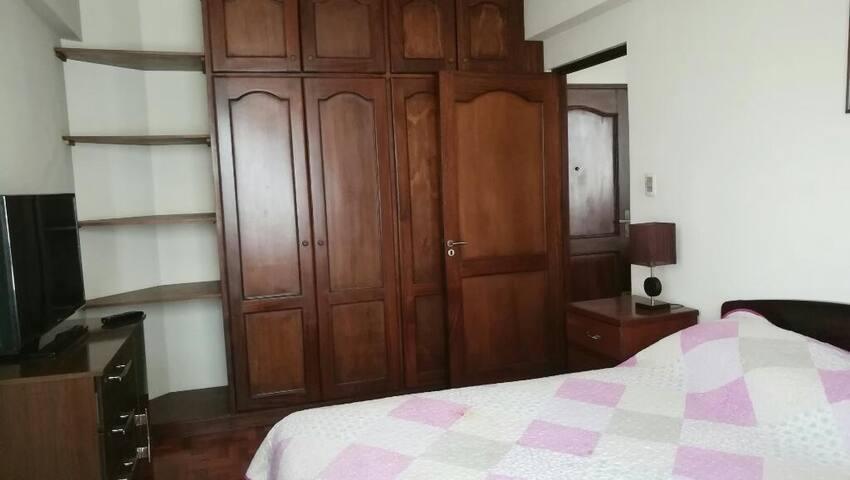 Apartamento amoblado y equipado en Miraflores LP