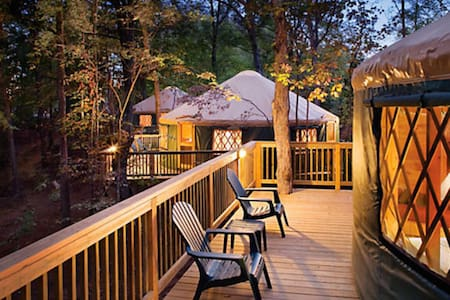 Virginia Mountains Yurt Getaway - Iurta