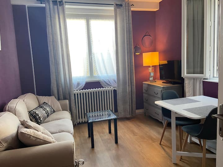 Appartement cosy et confortable