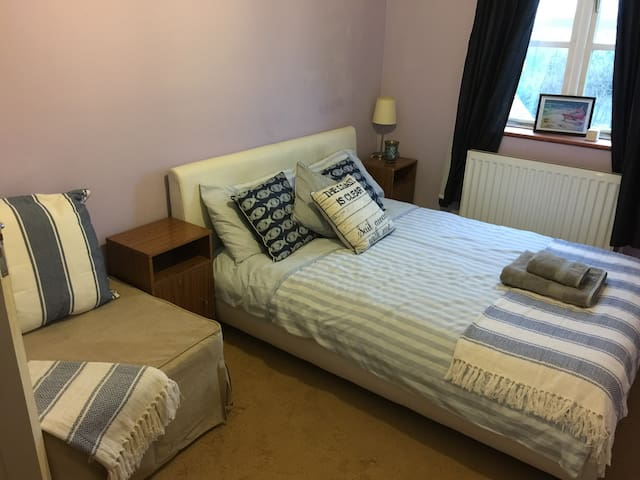 Double room in quite house