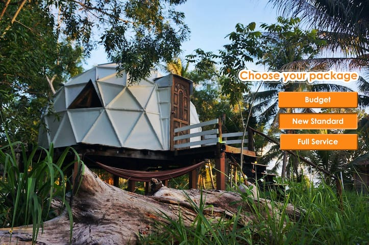 Unique One Love Dome - Ko Pha-ngan - Bungalov