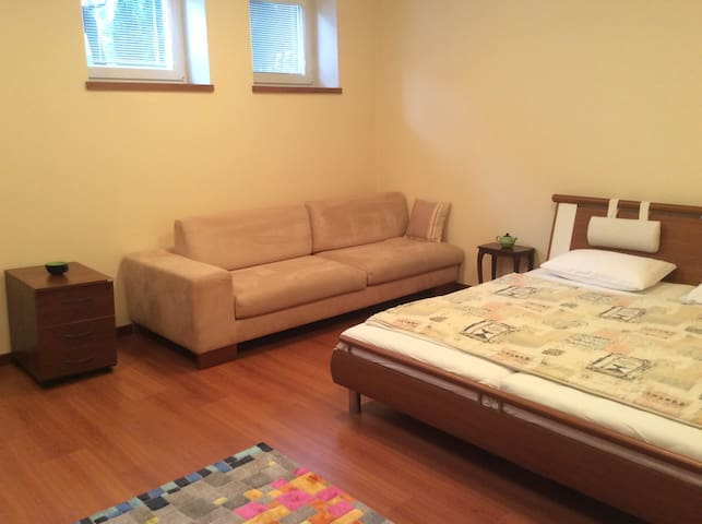 2 Spacious Rooms in a House with Parking/Terrace - Bratislava - Huis