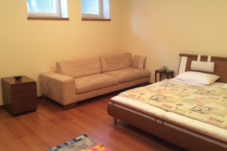 2 Spacious Rooms in a House with Parking/Terrace - Bratislava - Dům