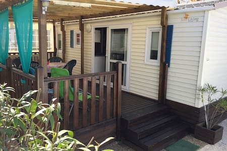 MOBIL HOME TOUT CONFORT VALRAS PLAGE - Valras-Plage - 平房