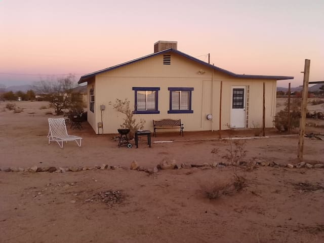 Little Cabin in the Desert
