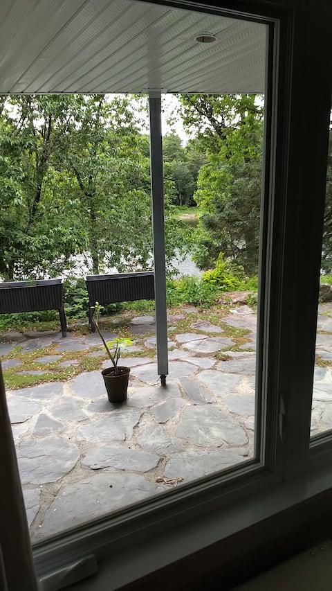 Rez de jardin en plein cœur  de la nature