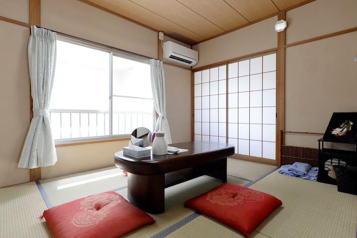 ShareRoom nr Sta Easy→Shinjuku Int+WiFi+TV - Arakawa - บ้าน
