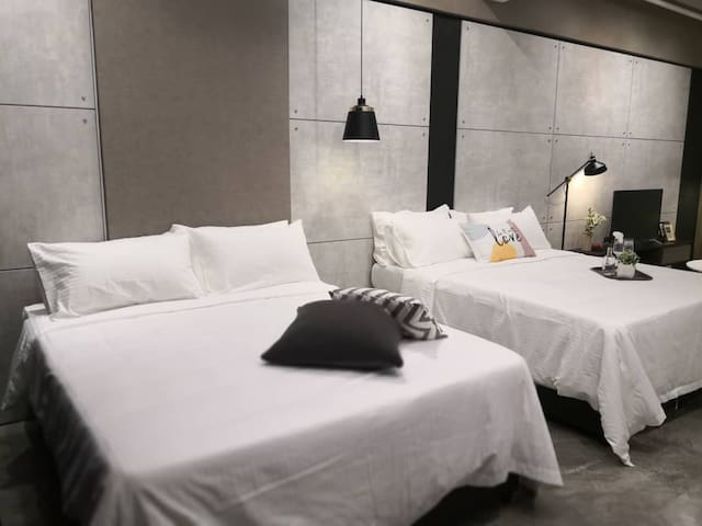 2-5pax NEW COZY SUITE - 5 mins to Sunway Pyramid