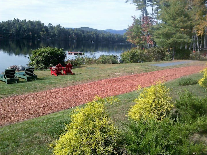 Lakefront luxury home 26A on Kezar Lake, Maine