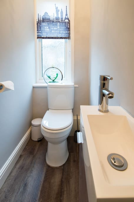 Separate WC to the bathroom.