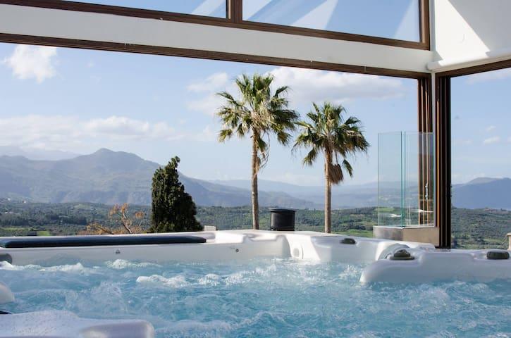 Athina House, jacuzzi roof terrace! - Rethymno - Casa de campo