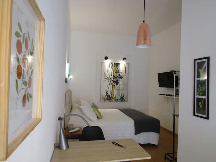 Acogedor mini estudio con terraza