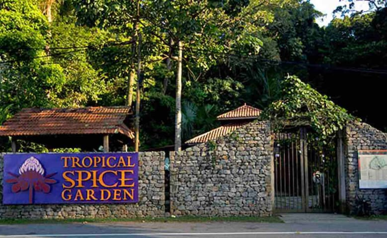 12 min drive to Spice Garden