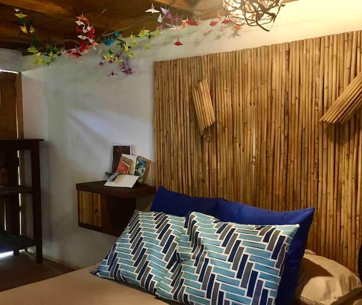 """Cabaña """"Coral"""" complejo """"Salmastro"""" Playa del amor"""