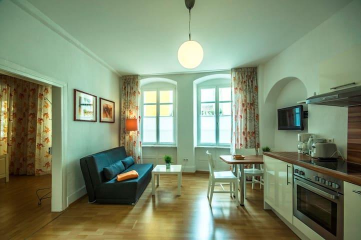 Ferienwohnungen Spiegel Felsgässele, (Lindau am Bodensee), Ferienwohnung Mediterran 1, 50 qm, 1 Schlafzimmer, max. 3 Personen