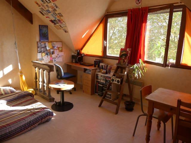 Studio lumineux, pratique et idealement situé - Tours - Apartment