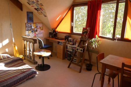 Studio lumineux, pratique et idealement situé - Tours - Apartmen