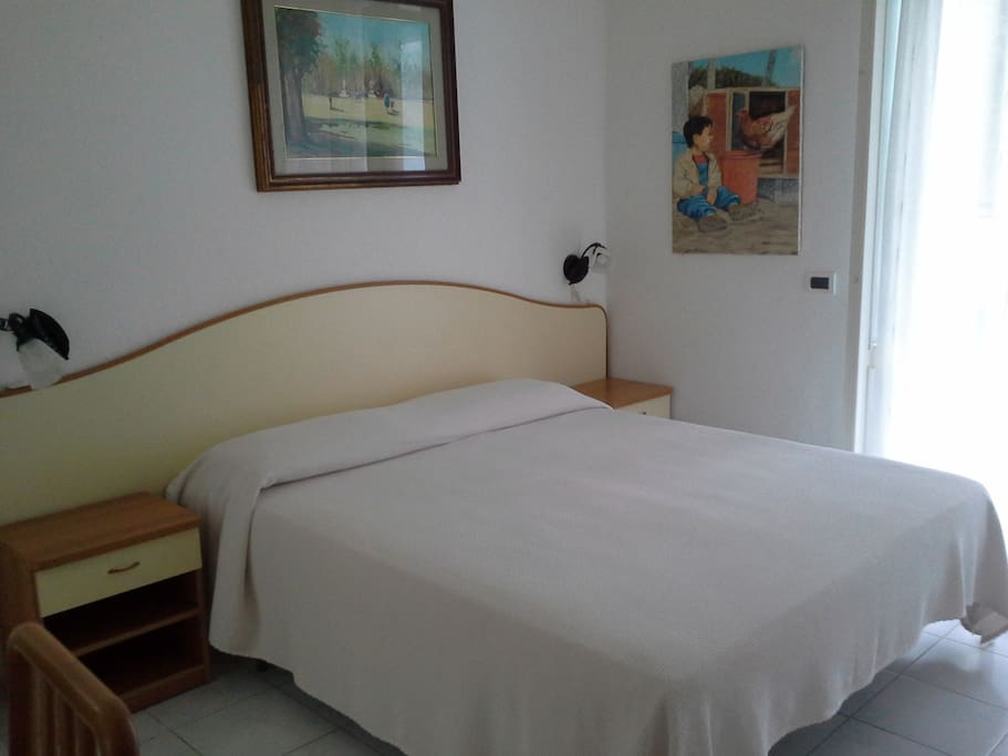 la camera per un fresco relax......