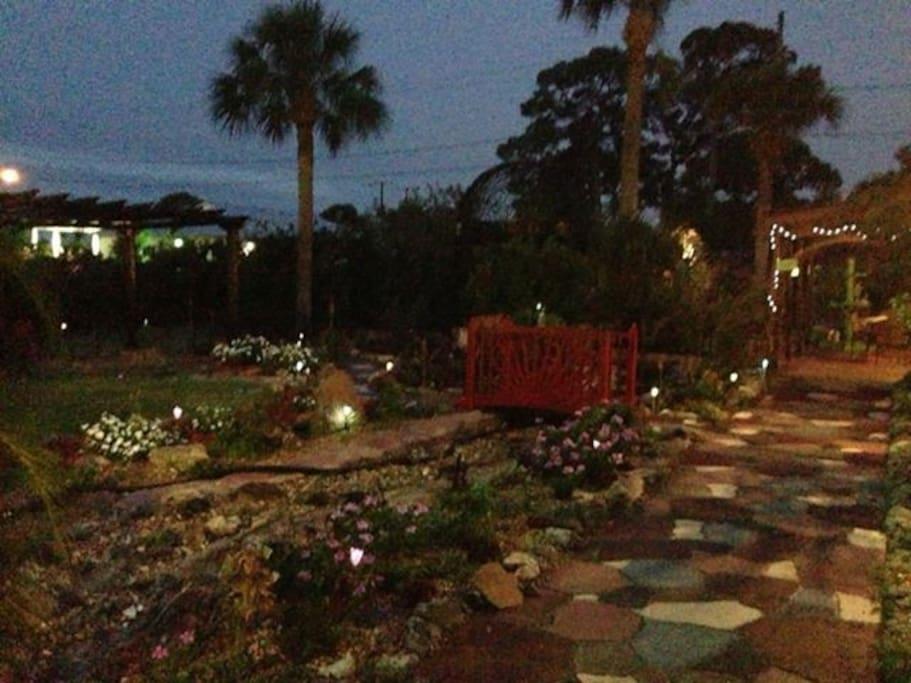 Garden Evening View