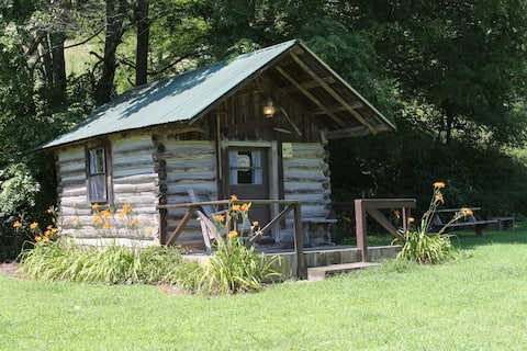 Russ Noah Log Cabin at Crystal Creek Ranch