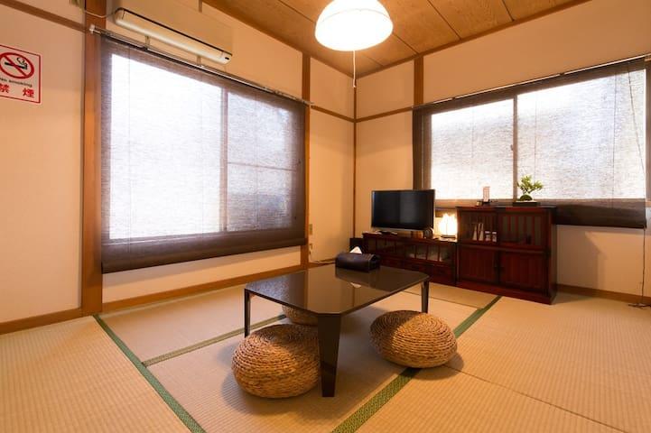 TokyoJPNRoom 4min STA 6min train→Shinjuku TV+WiFi