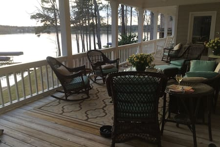 Reynolds Lake Oconee Master's & Vacation Rental - Greensboro - Hus
