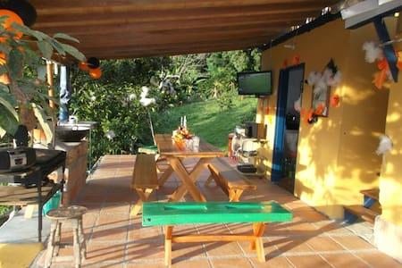 Donde Elias casa de campo Fredonia zona cafetera. - Fredonia