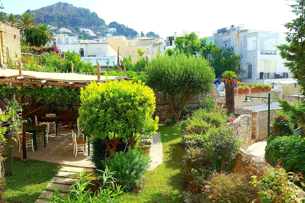 Bed And Breakfast In Central Capri Italy