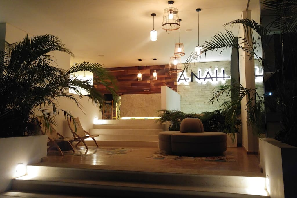 ANAH Luxury Condo Entrance with 24hr security